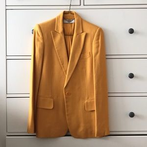 Yellow Linen Stella McCartney Blazer 38